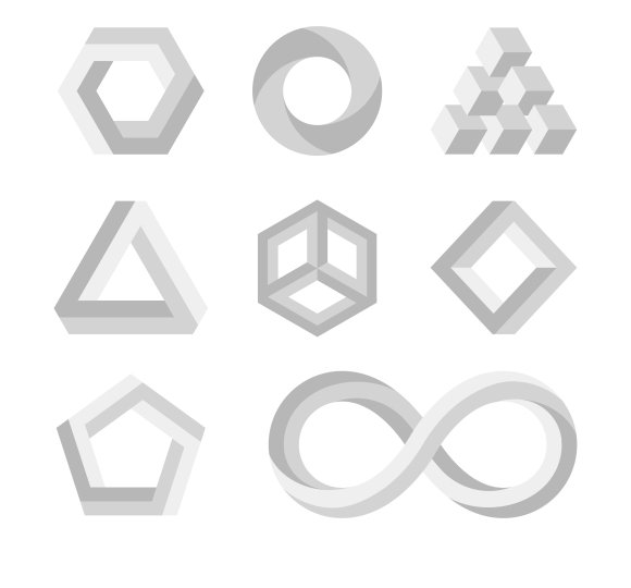 Paradox Impossible Shapes