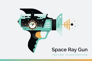 Ray Gun Vector Illustration