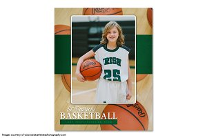 Basketball Memory Mate Template-Ind6