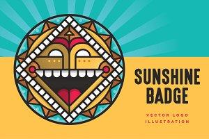 Sunshine Badge