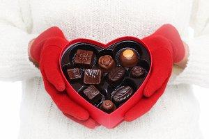 Valentine Day Candy Heart