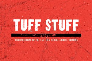 Tuff Stuff Distressed Elements 1