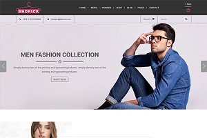 Shopick–eCommerce Template