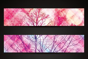 Winter banners