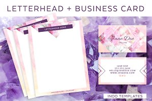 Mystic Letterhead and Business Card