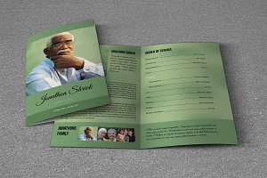 Funeral Program Template-T642