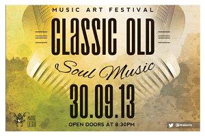 Vintage Concert Flyer