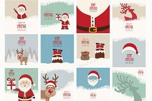 24 Vintage Christmas Pack
