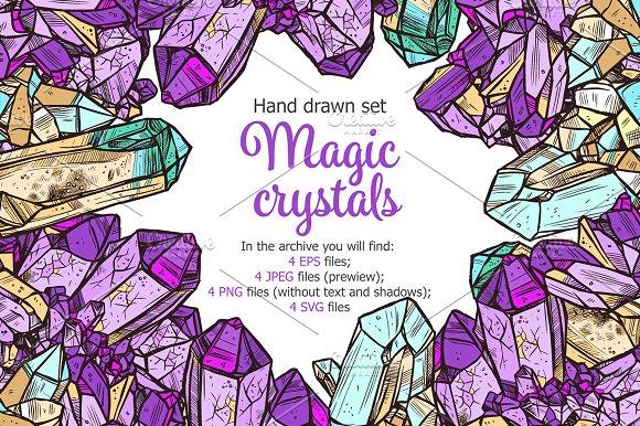 Crystal Stones Set