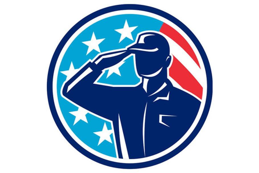 American Soldier Serviceman
