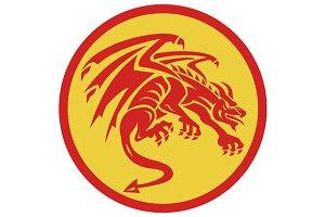 Dragon Gargoyle Crouching