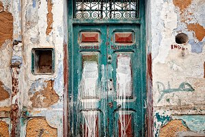 Old gate in Asillah Morocco
