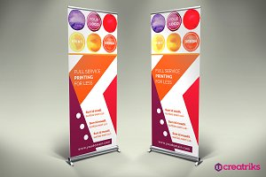 Printing House Roll Up Banner
