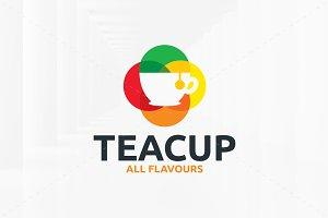 Tea Cup Logo Template