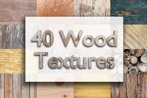 40 Wood Textures