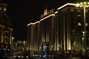 State Duma of Russia  in the evening