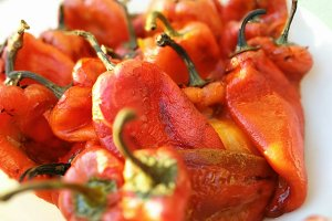 Roast Bell Peppers