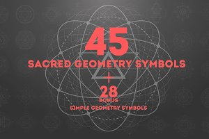 45 Sacred geometry signs