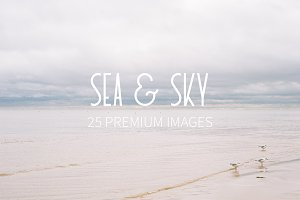 Sea & Sky | 25 Premium Images