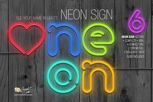 Neon Sign Actions