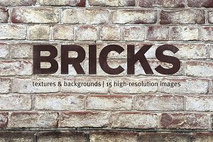Brick Textures and Backgrounds Pack
