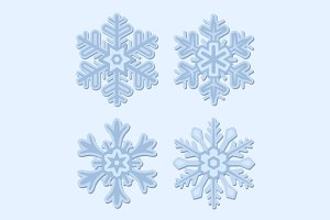 Snowflake Winter Set