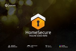 Home Secure Logo