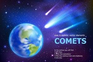 Realistic Comets Set