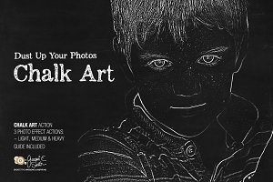 Chalk Art Actions