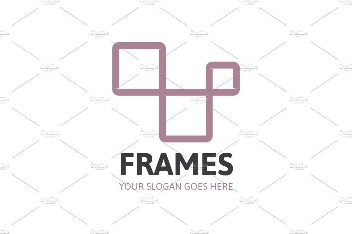 Frames Logo ~ Logo Templates ~ Creative Market