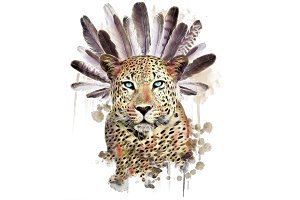 Animal Set-Leopard Print