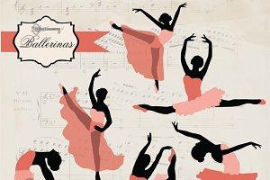Ballerinas Clip Art