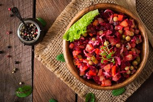 Beet salad Vinaigrette