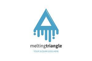 Melting Triangle Logo