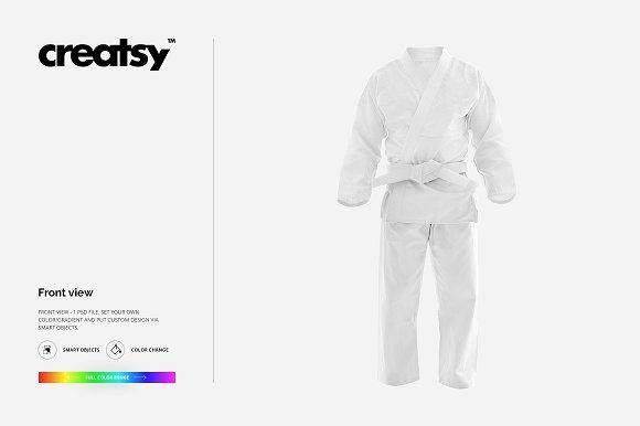 Brasilian Jiu Jitsu Uniform Mockup ~ Product Mockups ~ Creative Market