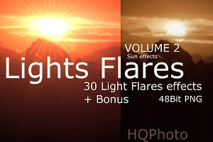 Light Flare Effects Volume 2
