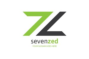 Seven Zed - Letter Z Logo
