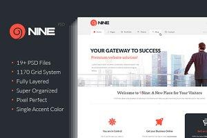9Nine - Clean PSD Design