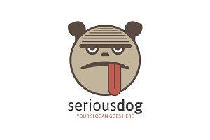 Serious Dog - Petshop Logo