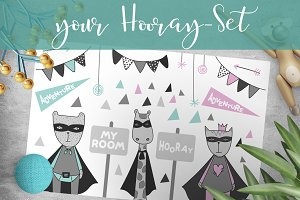 Hooray scandinavian Boy & Girl Set