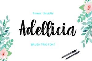 Adellicia Trio Font