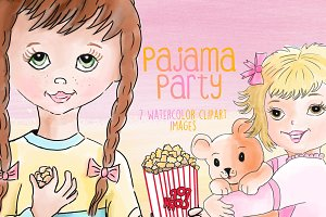 Pajama Party Clipart Images