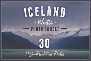 Iceland - Winter Photo Bundle