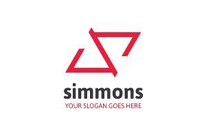 Simmons Letter S Logo