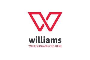 Williams Letter W Logo