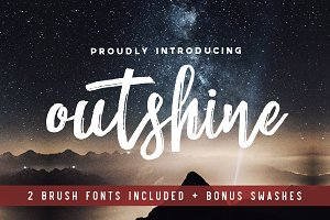 Outshine Duo Font Pack