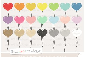 Heart Balloon Clipart