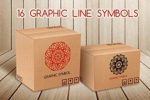 16 Graphic line symbols
