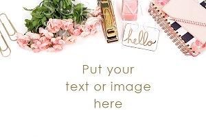 Styled Desktop~Pink Hello