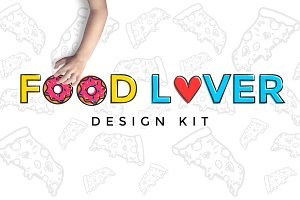 Food lover design kit